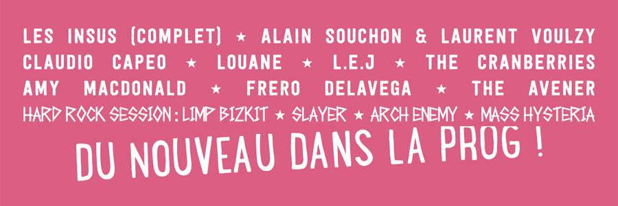 Foire aux Vins d'Alsace 2016 | Bands