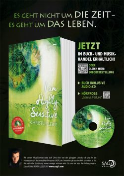 SAG7 & Chris Novi | I am Highly Sensitive – Christus Lebt! | Plakat