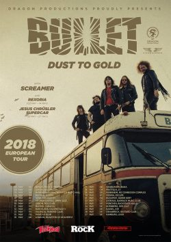 Bullet | Dust To Gold Tour2018