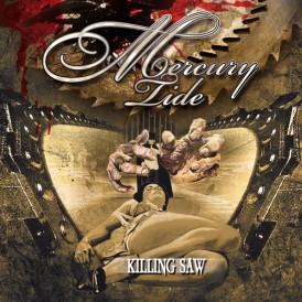 Mercury Tide feat. Dirk Thurisch | Killing Saw (Album Cover)