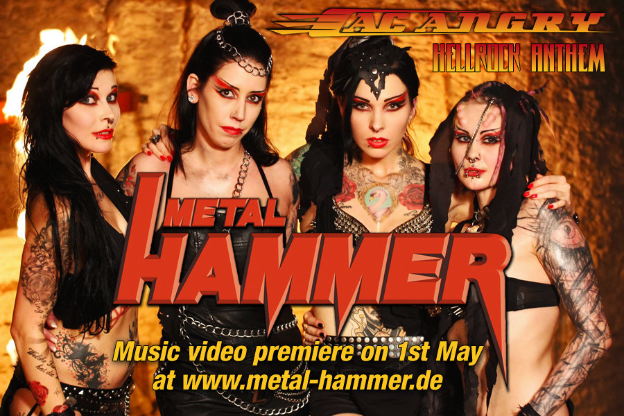 AC ANGRY | Hellrock Anthem | Metal Hammer video premiere