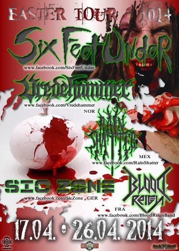 Sic Zone | Six Feet Under | Tour 2014