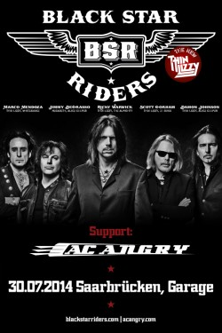 AC ANGRY + Black Star Riders | Garage | Saarbrücken