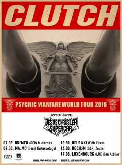 Jesus Chrüsler Supercar | Clutch | Tour 2016