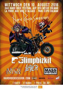 Foire aux Vins d'Alsace 2016  Hard Rock Session   Plakat