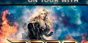 Oversense on tour with Doro 2017