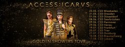 Access:Icarus | Golden Showers Tour | Christopher Street Days 2019